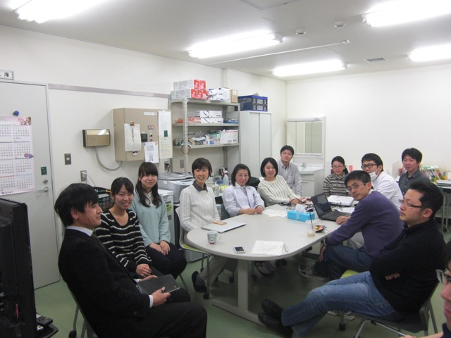 Lab meeting picture 1.