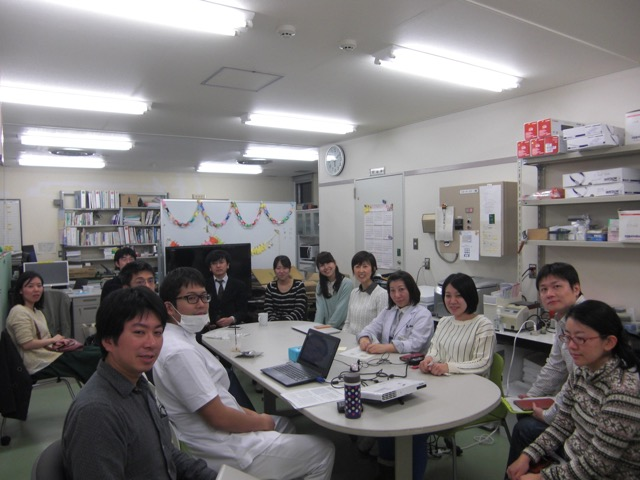 Lab meeting picture 2.